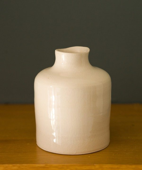 """Ručne """"točená"""" kameninová váza Dream detail"""