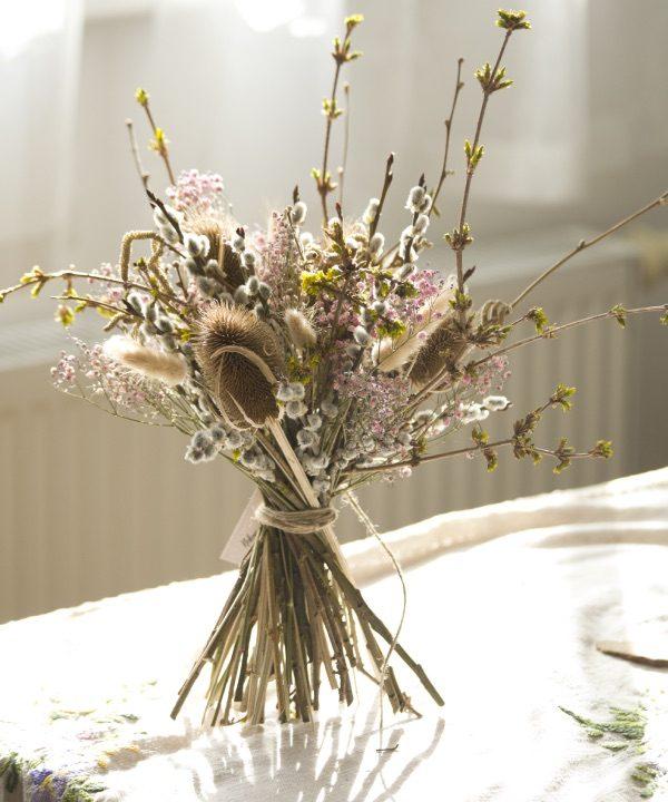 Kytica sušených kvetov Welcome Spring
