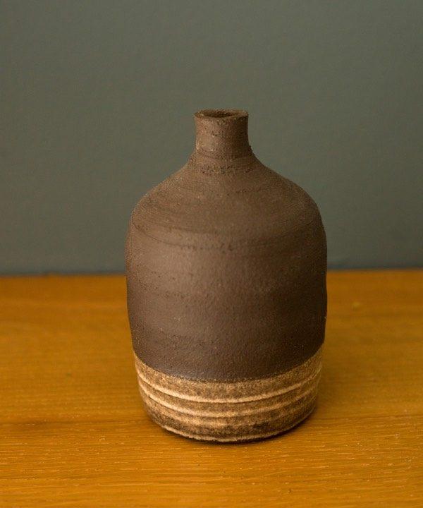 Ručne vyrábaná hlinená váza Pampas detail