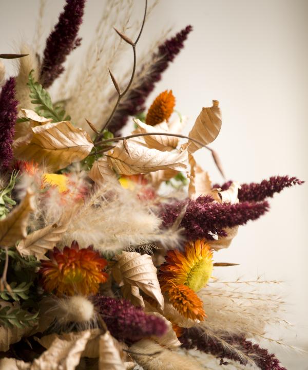 Detail kytice zo sušených kvetov Summer Memories