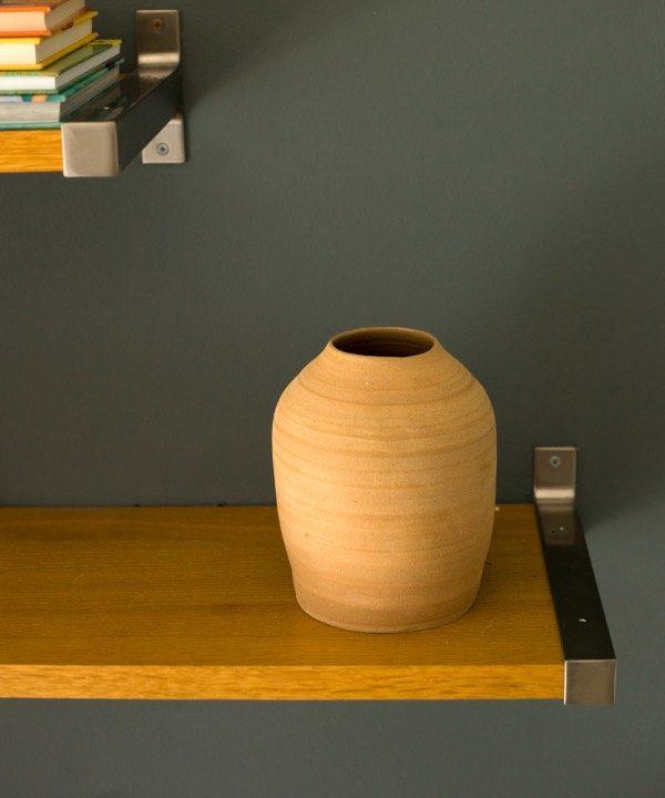 Ručne vyrábaná hlinená váza Terra