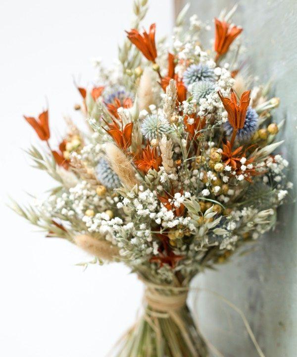 Kytica zosušených kvetov Fields Forever detail